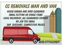 Van and man 07715639837