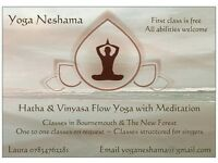 Hatha & Vinyasa flow yoga - Classes beginning in September