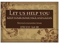If you need a reliable, thrustworthy and hardworking cleaner I can help you!