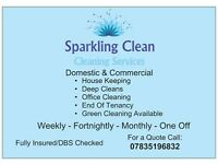Sparkling Clean( Domestic and Commercial Cleaning Services)
