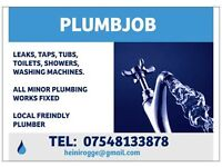PLUMBJOB PLUMBING SERVICES 07548133878