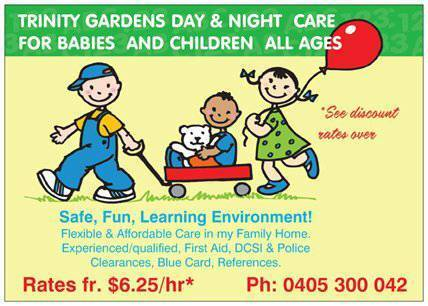 24/7 DAY & NIGHT CARE - ALL AGES From $6.25/HR* Trinity Gardens Norwood Area Preview