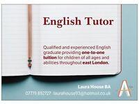English Tutor - East London