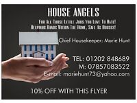 House Angels - For All Those Jobs You Love To Hate! Tel 01202848689 or 07857083522
