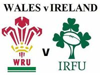 Rugby Tickets Wales VS Ireland (Only 2 Left!)