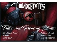 Tattoo and piercing studio