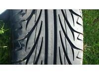 Mini cooper wheel + tyre 7mm