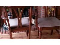 DUCAL HAMPSHIRE CARVER CHAIRS