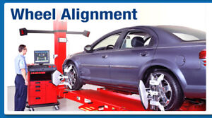 LAZER ALIGNMENT $59.99 FOUR WHEEL TOE