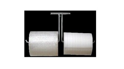 24 Double Arm Wall Mount Bubble Wrap Foam Cushioning Roll Dispenser