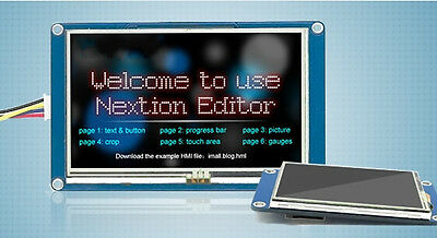 New 3.2 Nextion Hmi Tft Lcd Display Module For Arduino Raspberry Pi 2 A B