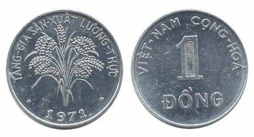 VIETNAM 1971 1 DONG UNCIRCULATED, KM #12