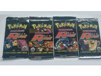 Pokemon 1st Edition Team Rocket Booster Packs