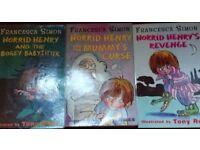 3 HORRID HENRY BOOKS