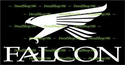 Falcon Graphite Fishing Rods -Outdoor Sports- Vinyl Die-Cut Peel N