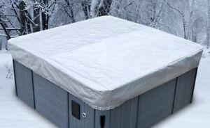 Housse hivernale pour spa (toile de protection)