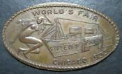 1933 Chicago Worlds Fair Penny