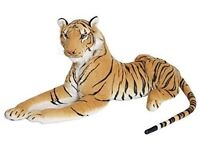 """Extra Large Stuffed Cuddly Toy Tiger, 160cm 63"""""""