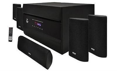 New Pyle 400W 5 1 Channel Home Theater System Am Fm Tuner Cd Dvd Mp3 Compatible