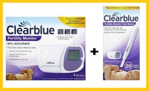 clearblue fertility monitor health beauty ebay. Black Bedroom Furniture Sets. Home Design Ideas