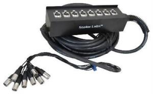 32' 8 Channel Box XLR Cable Snake