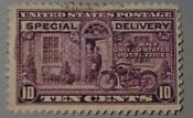 Special Delivery 10 Cent Stamp