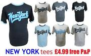 Mens New York T Shirt
