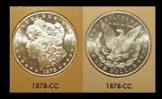 Morgan Silver Dollar CC UNC