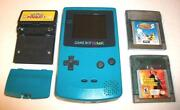 Gameboy Color with Games