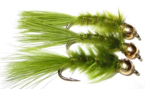 Leech flies ebay for Alaska fly fishing goods