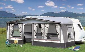 BRAND-Wohnwagen-Vorzelt Lotus Gr. 13, Vorzelt, Camping, Wohnwagen