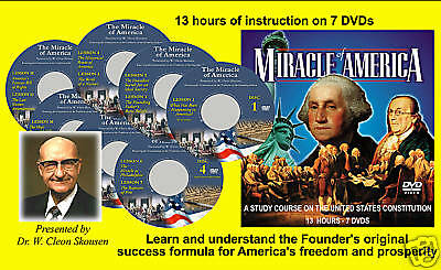 The Miracle of America Study Course by W. Cleon Skousen