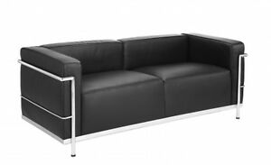 Le Corbusier LC3 Style Loveseat