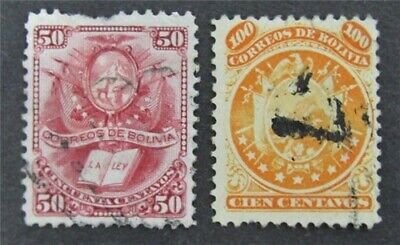 nystamps Bolivia Stamp # 23.34 Used $60   L30y296