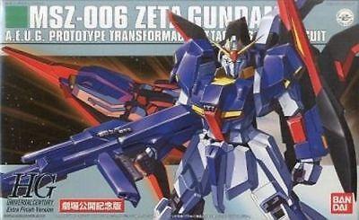 Bandai Hguc 1/144 Msz-006 Z Gundam Extra Finish Ver Kunststoff Modell Kit Japan (Gundam Extra Finish)