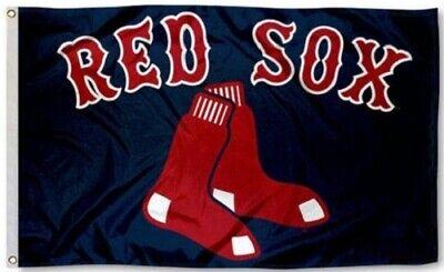 NEW Boston Red Sox MLB Baseball Large 3x5 Flag Banner FREE SHIPPING