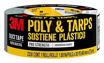 3M Poly & Tarps Duct Tape, 2330-C, 1.88 Inches by 30 Yards - NEW, Shipping Free!