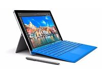 Microsoft Surface Pro 4 12.3 inch Tablet with Pen and Keyboard - Bright Blue. Contact on phone!!