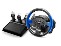 New in Box Thrustmaster T150 Pro Steering Wheel & Pedals.