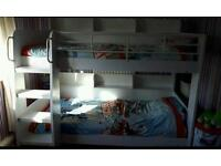 WANTED WHITE BUNK BEDS SAME AS PICTURE IDEALLY