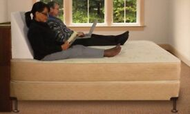 Memory form bed wedge pillow