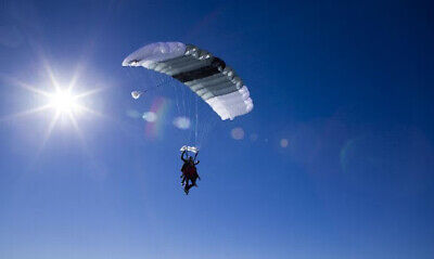 Airworthy SF-10A Complete Parachute System with the SLCP Reserve