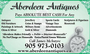 ABSOLUTE BEST CASH PAID FOR HOME CONTENTS ANTIQUES COLLECTABLES