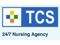 TCS 24/7 nursing agency. we are hiring...