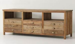 Pine console or media table for sale, great condition!