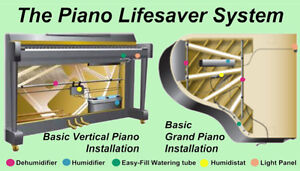 Piano Life Saver Installations - Stabilize your piano's tuning