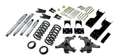Belltech 88-98 Silverado Ext Cab 5/7 Drop w/SP Shocks Lowering Kit 694SP