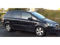 2007 plate Vauxhall Zafira. MOT until May 2018. Selling as spares or repair due to faults