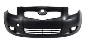 NEW PAINTED 2006-2008 TOYOTA YARIS FRONT BUMPERS +FREE SHIPPING