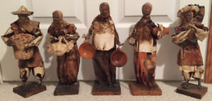 BRAND NEW HAND MADE FIGURINES FROM MEXICO ON SALE